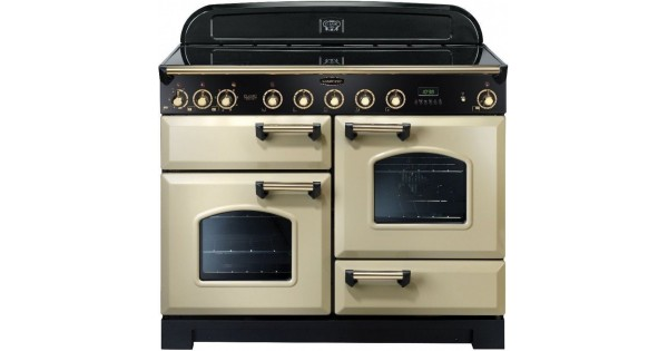 classic deluxe 110 induction cream brass. Black Bedroom Furniture Sets. Home Design Ideas